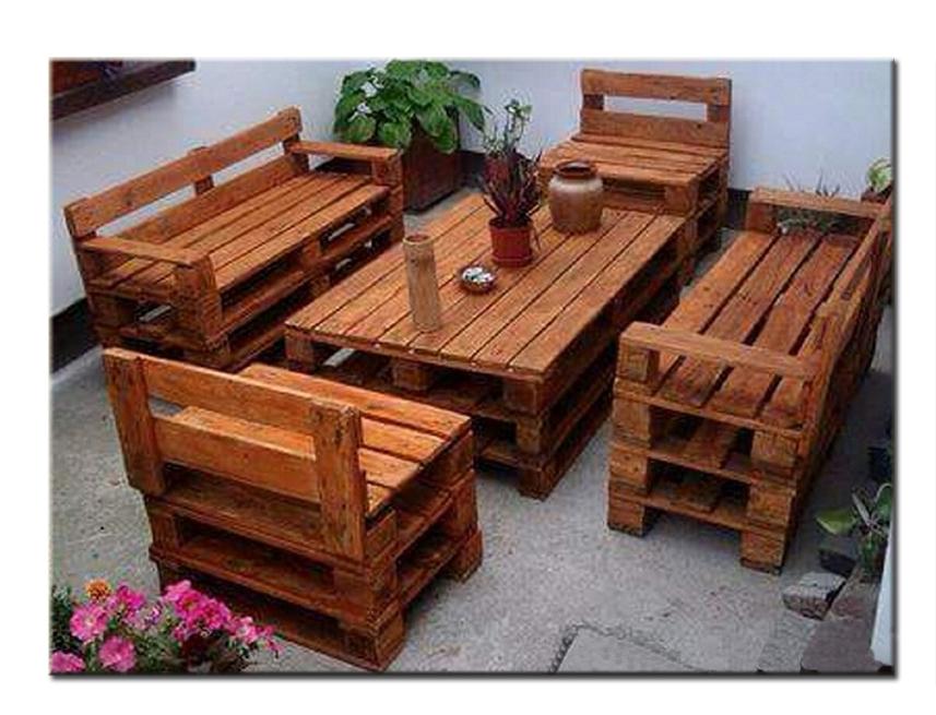 Мебель из поддонов для кафе пошагово