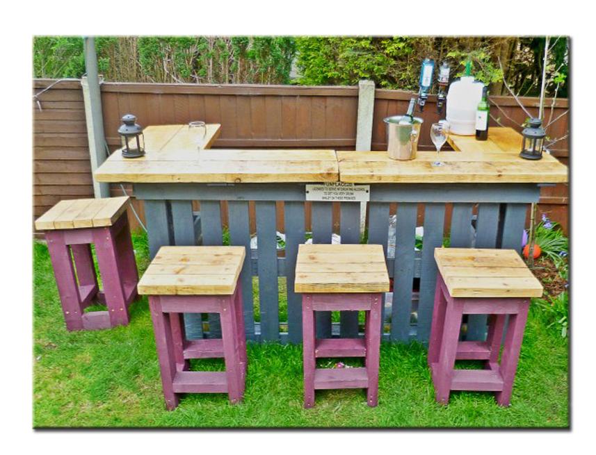 Садовая мебель своими руками дешево практично стильно 64